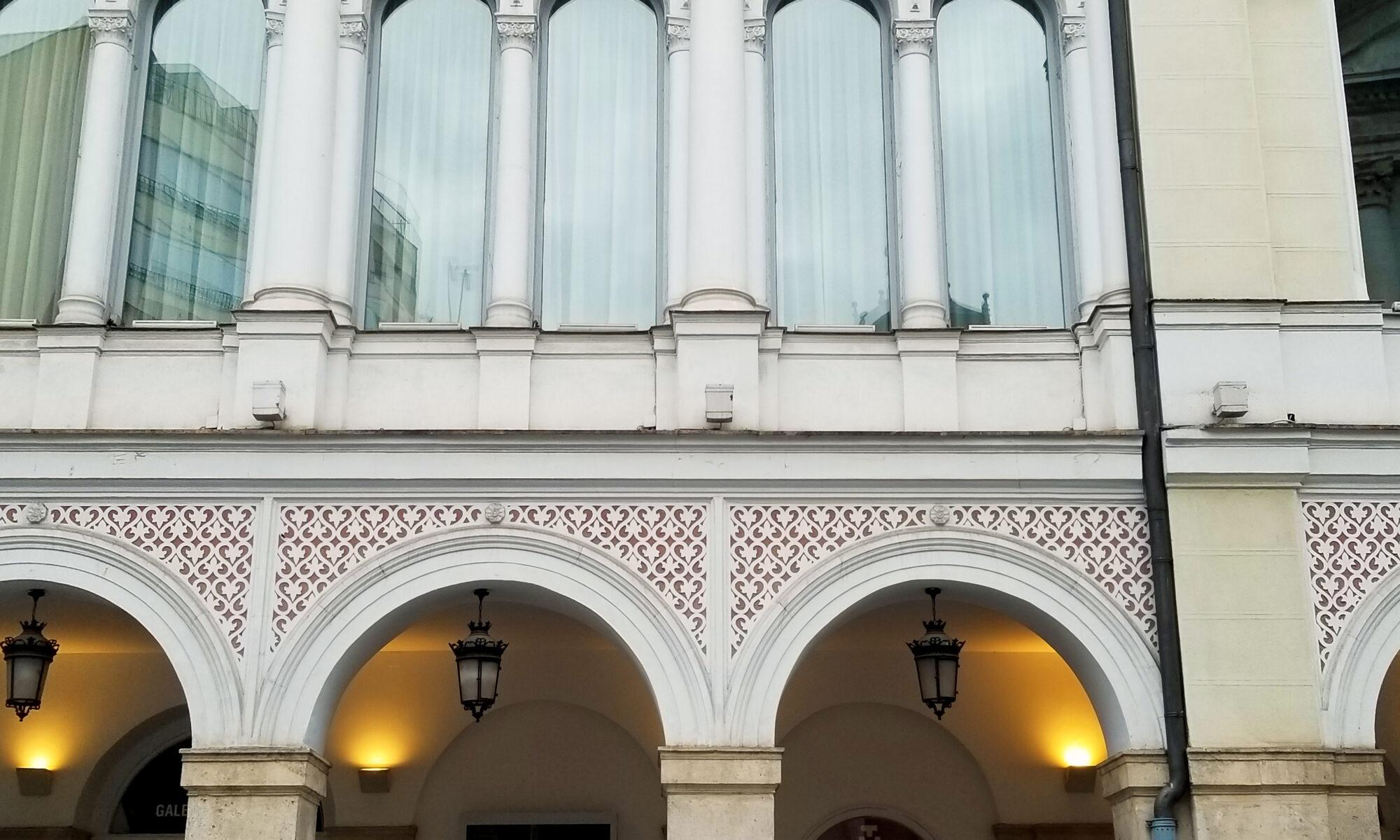 Fachada del Teatro Calderón